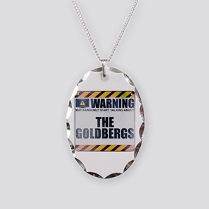 Warning: The Goldbergs Necklace Oval Charm