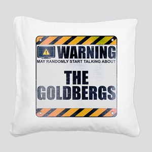 Warning: The Goldbergs Square Canvas Pillow