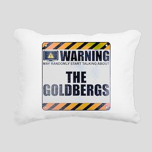 Warning: The Goldbergs Rectangular Canvas Pillow