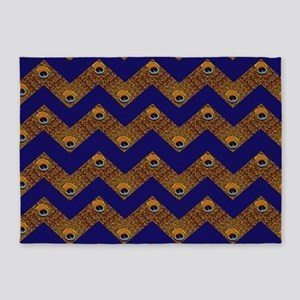 Chevron Stripes 5'x7'Area Rug