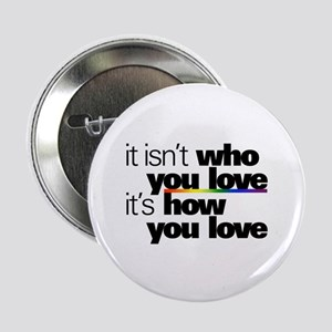 """It's How You Love 2.25"""" Button"""