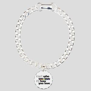 It's How You Love Charm Bracelet, One Charm