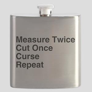 Measure Twice Flask