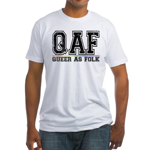 QAF Queer as Folk Fitted T-Shirt