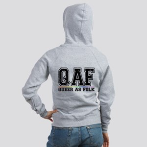 QAF Queer as Folk Women's Zip Hoodie