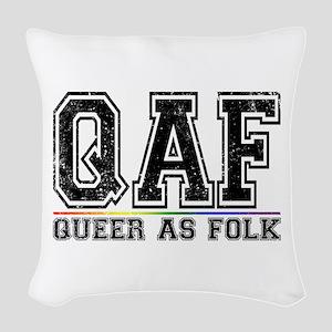 QAF Queer as Folk Woven Throw Pillow