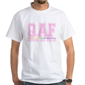 QAF Queer as Folk White T-Shirt