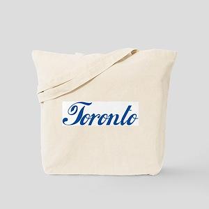 Toronto (cursive) Tote Bag