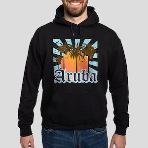 Aruba Caribbean Island Hoodie (dark)