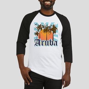 Aruba Caribbean Island Baseball Jersey