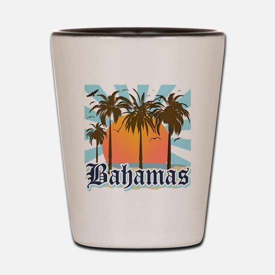 Bahamas Shot Glass