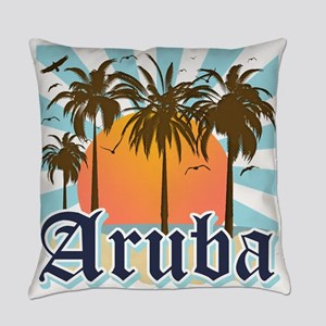 Aruba Caribbean Island Everyday Pillow