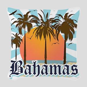 Bahamas Woven Throw Pillow