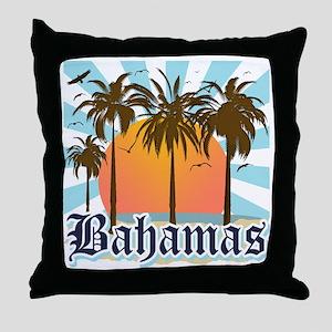 Bahamas Throw Pillow