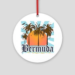 Bermuda Round Ornament