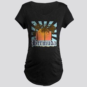 Bermuda Maternity Dark T-Shirt