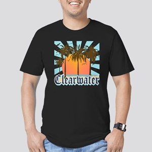 Clearwater Beach Flori Men's Fitted T-Shirt (dark)