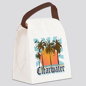 Clearwater Beach Florida Canvas Lunch Bag