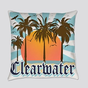 Clearwater Beach Florida Everyday Pillow
