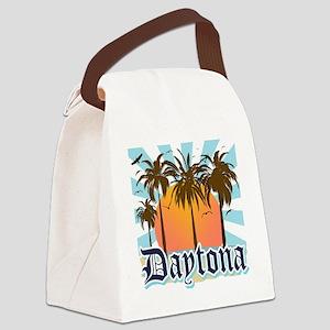 Daytona Beach Florida Canvas Lunch Bag