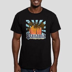 Panama Men's Fitted T-Shirt (dark)