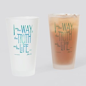 I am the Way Drinking Glass