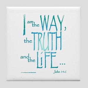 I am the Way Tile Coaster