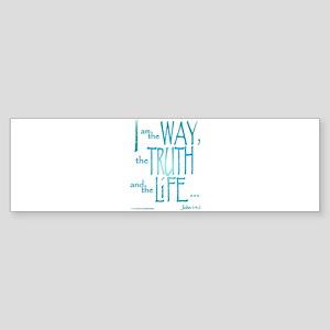 I am the Way Sticker (Bumper)