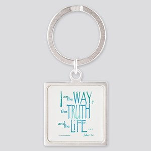 I am the Way Square Keychain