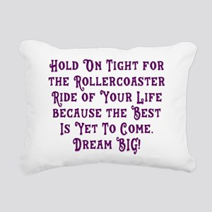 Rollercoaster To The Best Rectangular Canvas Pillo