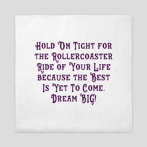 Rollercoaster To The Best Queen Duvet