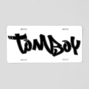 Tomboy Aluminum License Plate