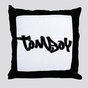Tomboy Decor Throw Pillow