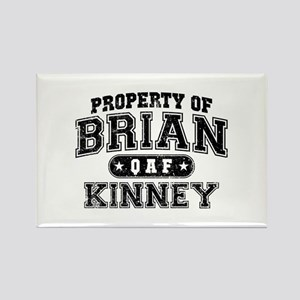 Property of Brian Kinney Rectangle Magnet