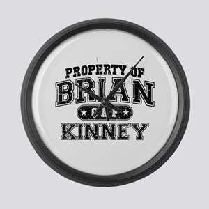 Property of Brian Kinney Large Wall Clock