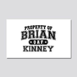 Property of Brian Kinney Car Magnet 20 x 12