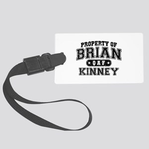 Property of Brian Kinney Large Luggage Tag