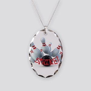 STRIKE! Necklace Oval Charm