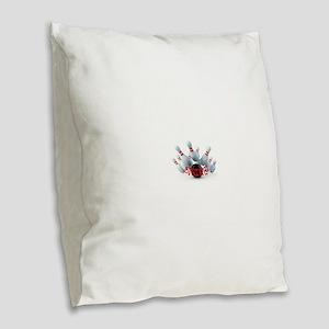 STRIKE! Burlap Throw Pillow