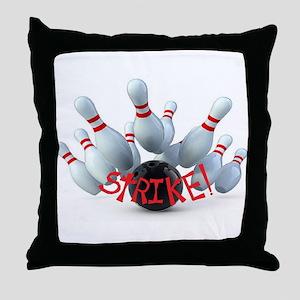 STRIKE! Throw Pillow