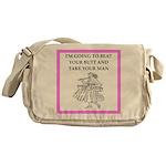 badminton Messenger Bag