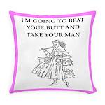 badminton Everyday Pillow