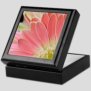 Pink daisy flowers Keepsake Box