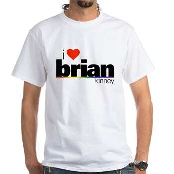 I Heart Brian Kinney White T-Shirt
