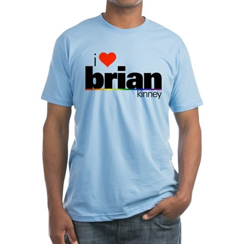 I Heart Brian Kinney Fitted T-Shirt