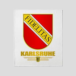 Karlsruhe Throw Blanket