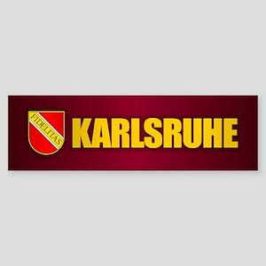 Karlsruhe Bumper Sticker