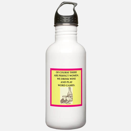 word games Water Bottle