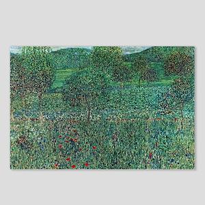 Flower Field in Litzlberg Postcards (Package of 8)