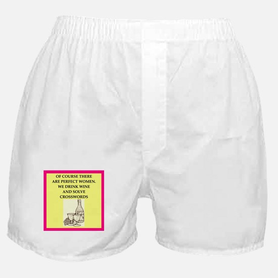 crossword Boxer Shorts